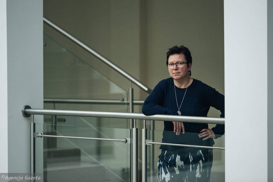 Dr Małgorzata Cackowska, pedagożka z Uniwersytetu Gdańskiego