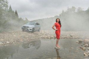 Mercedes GLE dla Justyny Kowalczyk