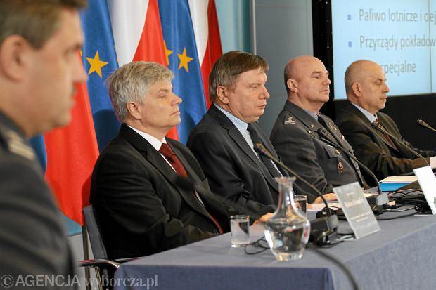 Prezentacja raportu komisji Millera w lipcu 2011 r.