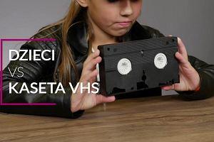 Widziałem je na filmach - dzieci o wysłużonych kasetach VHS [WIDEO]