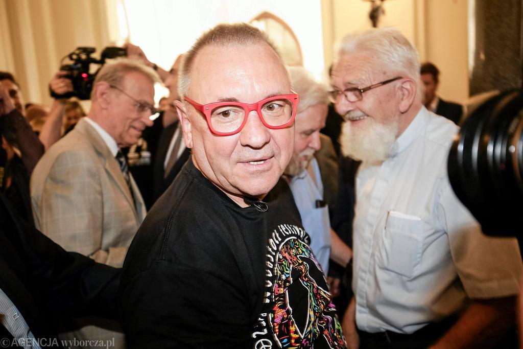 Jerzy Owsiak przeprosił posłankę Krystynę Pawłowicz, ale wciąż utrzymywał, że nie powiedział niczego złego.