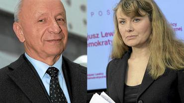 Prof. Chazan i Katarzyna Piekarska