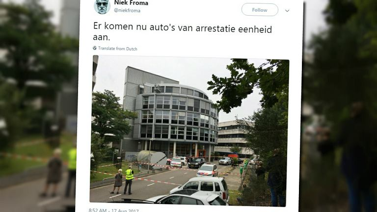 Zdarzenie w Holandii