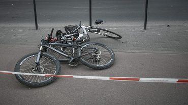 Wypadek rowerzystów / zdjęcie ilustracyjne
