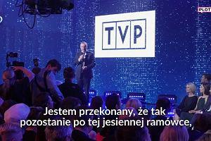 """Ramówka TVP ogłoszona. Co nowego? Mamy przemówienie Kurskiego. """"Telewizja Polska jest absolutnie numerem jeden"""""""