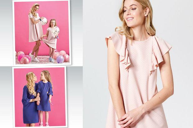 Sukienki dla mamy i córki z Biedronki