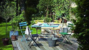 Meblujemy!  Stoliki i krzesła w stylu bistro, kolorystyczny koktajl dla tarasowej aranżacji. Dostępne aż w 23 kolorach! Będą świetnie współpracować  z każdym otoczeniem. www.nap.com.pl