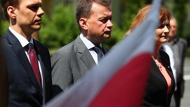 Minister obrony narodowej Mariusz Błaszczak w Stalowej Woli
