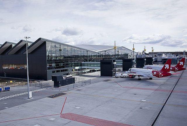 Nowy terminal lotniczy w Gdańsku
