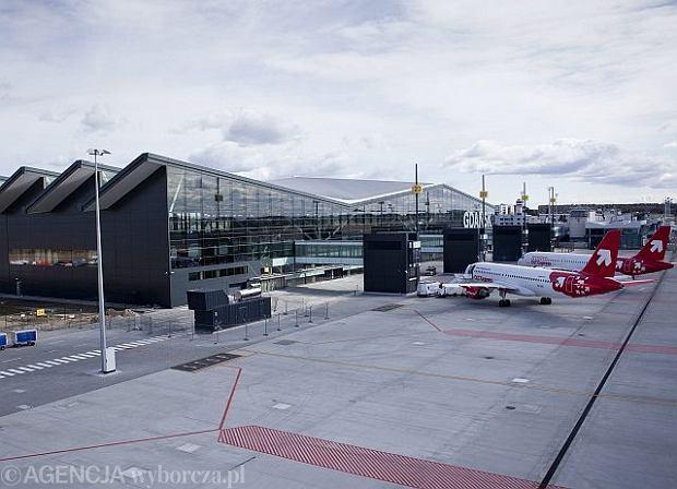 Nowy terminal lotniczy w Gda�sku