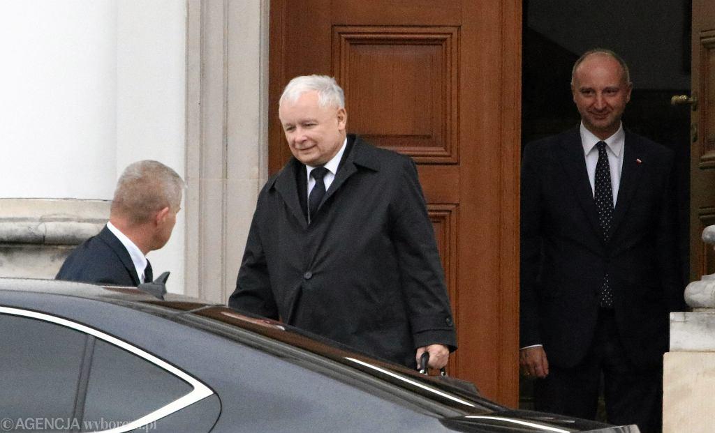 Spotkanie Kaczyński - Duda