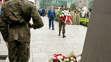 28 czerwca 2015 r., Plac Mickiewicza w Poznaniu, obchody rocznicy Czerwca 1956