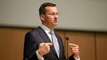 Wicepremier i minister rozwoju Mateusz Morawiecki