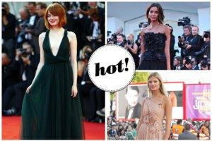 Festiwal filmowy w Wenecji wystartowa�! Najpi�kniejsze kreacje z czerwonego dywanu: Emma Stone, supermodelki i inne gwiazdy [ZDJ�CIA]