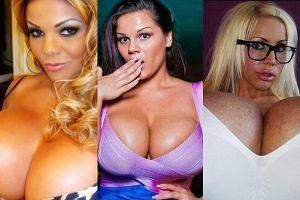 Oto najwi�ksze piersi w show-biznesie! Zgadniecie, w jakim s� rozmiarze? [TOP 10]