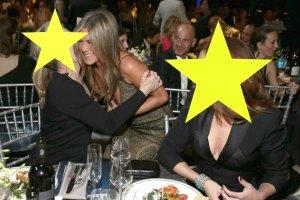 Meryl Streep, Jennifer Aniston, Julia Roberts
