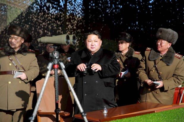 Przyw�dca Korei P�nocnej Kim Dzong Un