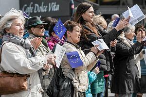 Opolanie śpiewali hymn Unii Europejskiej. Na Polexit nie pozwolimy. [WIDEO I ZDJĘCIA]