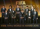 Z�ota Pi�ka FIFA. Messi po raz pi�ty wygra� Z�ot� Pi�k�