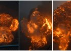 Najpierw był ogień i dym. A potem, co pół godziny, kilka potężnych wybuchów. W USA wykoleił się pociąg z ropą