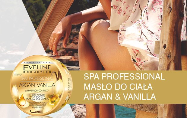 SPA PROFESSIONAL MAS�O DO CIA�A ARGAN & VANILLA