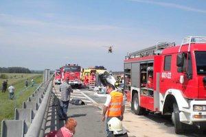 Tylko jedna ofiara katastrofy na autostradzie zidentyfikowana