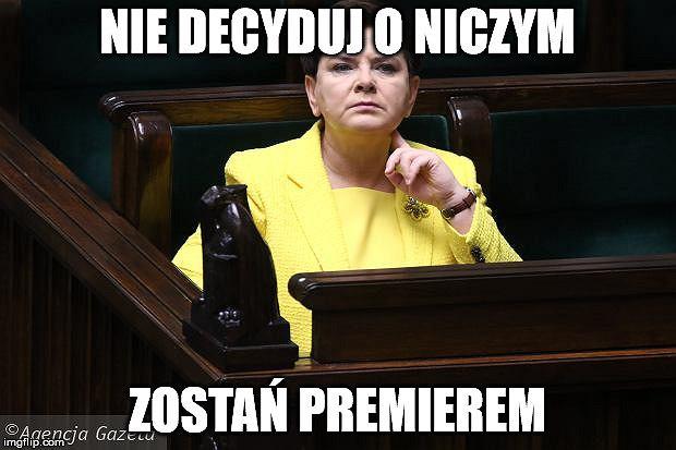 2d347c3166256 To już koniec ery Beaty Szydło! Złożyła rezygnację, ale pewnych ...