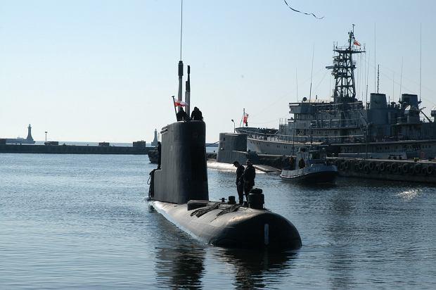 ORP Bielik, jeden z dwóch pozostających w służbie okrętów typu Kobben