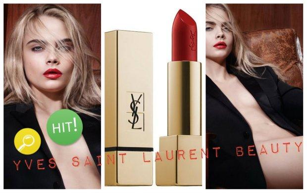 Cara Delevingne w kampanii Yves Saint Laurent Beauty jesie� 2015
