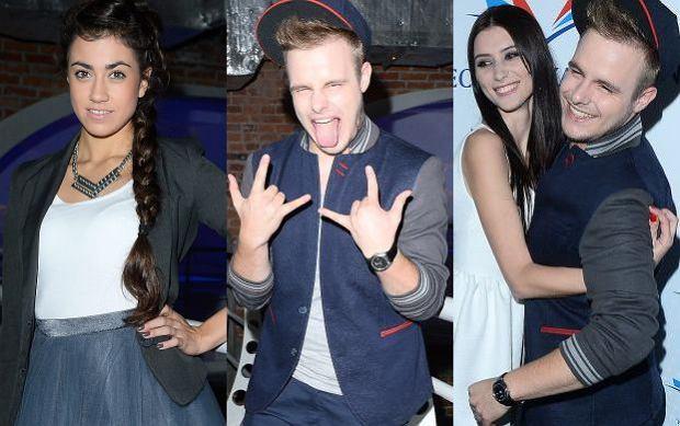 """Finalista """"X-Factor"""" nagra� teledysk. Na premierze koledzy z programu, celebryci i uczestniczka """"Top Model"""""""