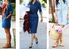 Jak nosi� jeansow� sukienk�? Modne stylizacje na sezon wiosna-lato