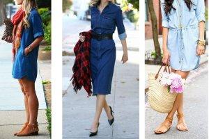 Jak nosić jeansową sukienkę? Modne stylizacje na sezon wiosna-lato