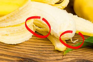 Wyrzucasz białe nitki z banana? Może przestaniesz, gdy dowiesz się, jaką pełnią funkcję