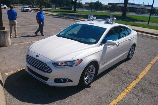 Autonomiczny Ford Mondeo | Pierwsza jazda | Przyszłość jest dziś