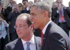 """Hollande i Obama gro�� Rosji nowymi sankcjami. """"Niech Putin ka�e separatystom si� wycofa�"""""""