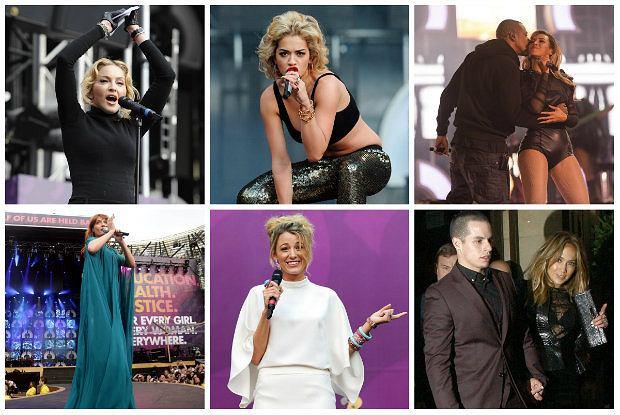 Plejada gwiazd Hollywood na gali charytatywnej Chime For Change - na czerwonym dywanie i na scenie [ZDJĘCIA]