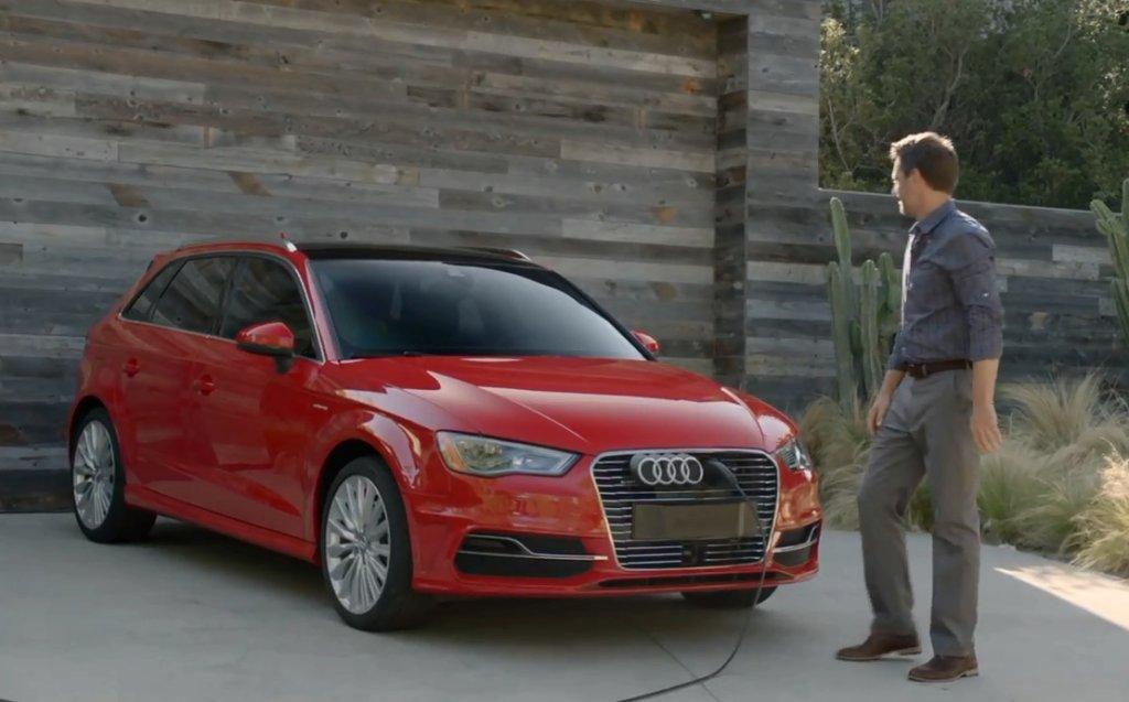 Audi A3 e-tron wyśmiewa Priusa