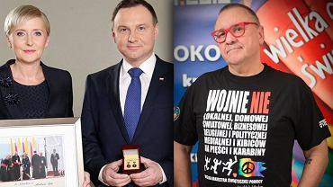 Jerzy Owsiak podziękował Parze Prezydenckiej i zaapelował do prezydenta Dudy