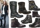 """Stylowe """"biker boots"""""""