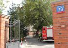 Pożar w szpital przy pl. Starynkiewicza