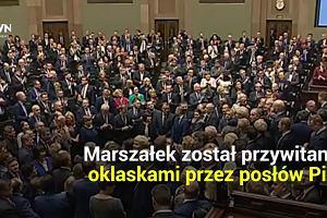 To były chyba najkrótsze obrady Sejmu w historii. Trwały zaledwie półtorej minuty