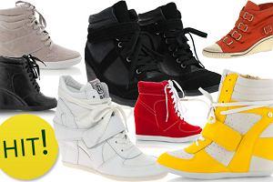 Trend alarm: sportowe buty na koturnach