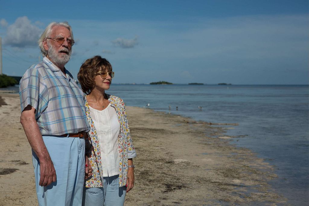 Helen Mirren i Donald Sutherland w filmie 'Ella i John' / UIP