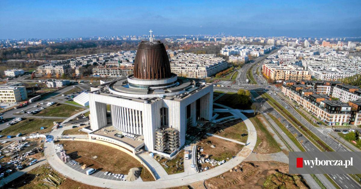 Miasteczko Wilanów Planują Nową Szkołę Przy świątyni Opatrzności