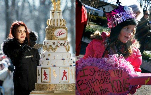Jak co roku, 8 stycznia w posiadłości Elvisa Presleya Graceland w Memphis, fani legendarnego muzyka zebrali się, by świętować jego urodziny. Okrągła rocznicę celebrowano z wyjątkowym rozmachem. Na uroczystości nie mogło zabraknąć rodziny króla rock'n'rolla. Zobaczyć wszystkich bliskich Elvisa razem w jednym miejscu to sytuacja, która nie zdarza się często.