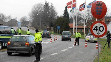 Wprowadzone wczoraj przez Danię kontrole na granicy z Niemcami mają na razie potrwać dziesięć dni  i być wyrywkowe.  Na zdjęciu: przejście graniczne w Padborgu
