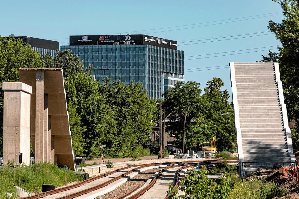 Budowa linii obwodowej Warszawa Wola
