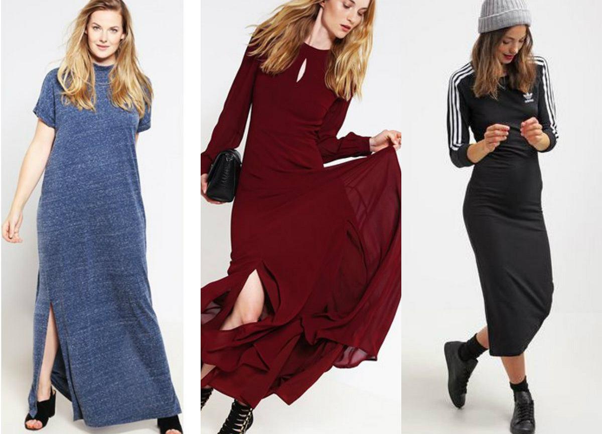 2974bf90bc Długa sukienka jesienią - jaką wybrać i z czym nosić