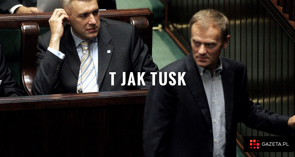 Roman Giertych i Donald Tusk