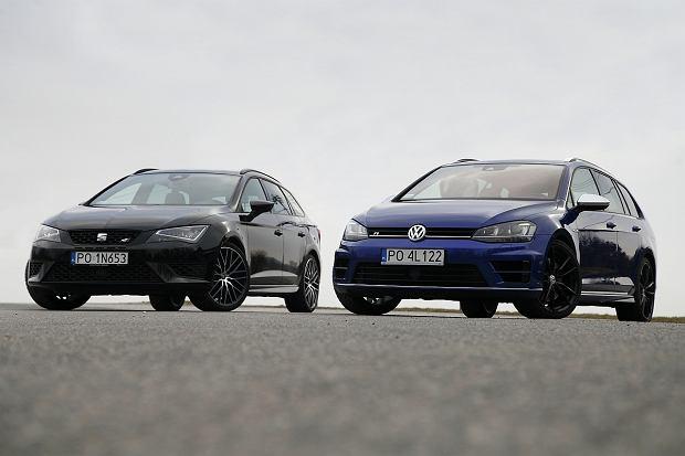 Galeria tygodnia | Seat Leon Cupra ST vs. VW Golf R Variant